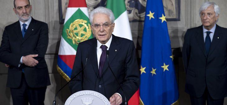 Grazie Mattarella, PRESIDENTE di tutti gli Italiani