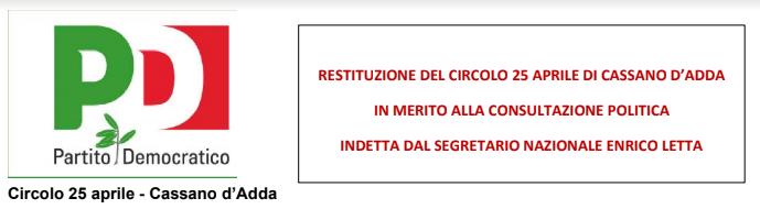 20 + 1 punti del Segretario Enrico Letta